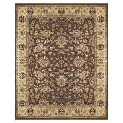 Barley Brown/Beige Area Rug Rug Size: Rectangle 96 x 136