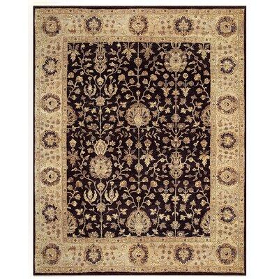 Barley Brown/Tan Area Rug Rug Size: 79 x 99
