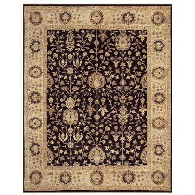 Barley Brown/Tan Area Rug Rug Size: Round 8