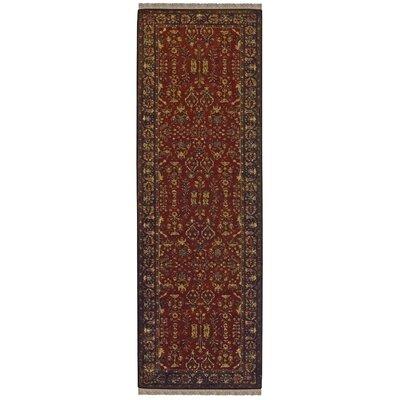Barcroft Cinnamon/Plum Area Rug Rug Size: Runner 23 x 8