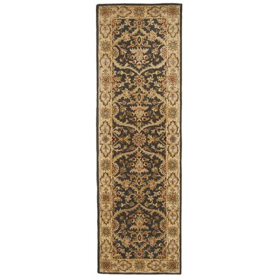 Bavis Brown Area Rug Rug Size: Runner 26 x 8