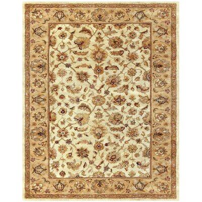 Bavis Tan Area Rug Rug Size: Rectangle 96 x 136