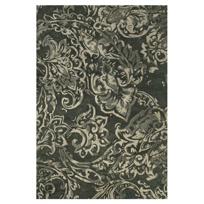 Barrell Gray/Multi Area Rug Rug Size: 36 x 56