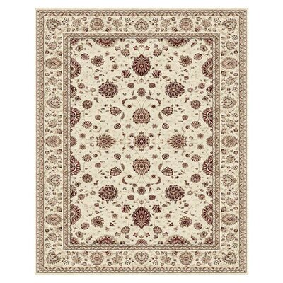 Barden Cream Rug Rug Size: Rectangle 4 x 6