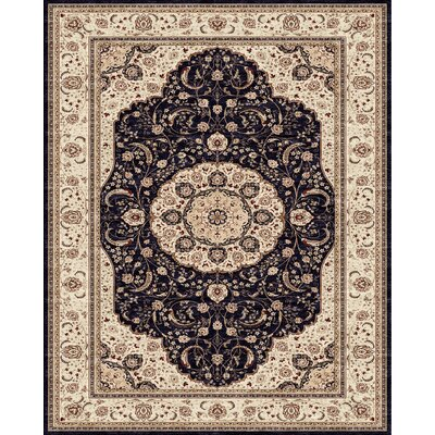 Barden Blue Rug Rug Size: Rectangle 91 x 132
