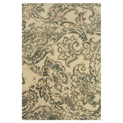 Barrell Ivory/Gray Area Rug Rug Size: Rectangle 36 x 56