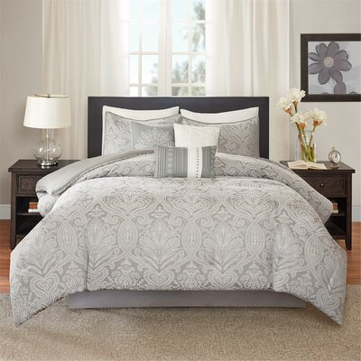 Verano 7 Piece Comforter Set Size: King