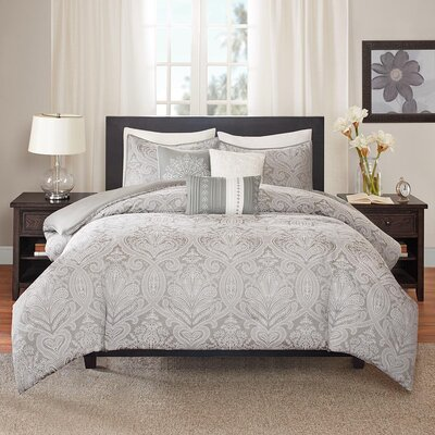 Verano 6 Piece Duvet Cover Set Size: King / Cal King