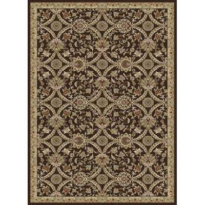 Springport Brown Area Rug Rug Size: 710 x 106