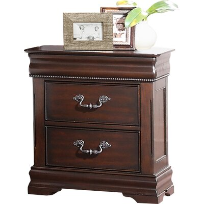 Boltongate 2 Drawer Nightstand