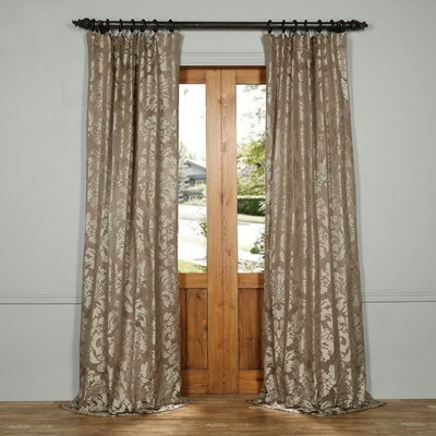 Ballycraigy Jacquard Single Curtain Panel