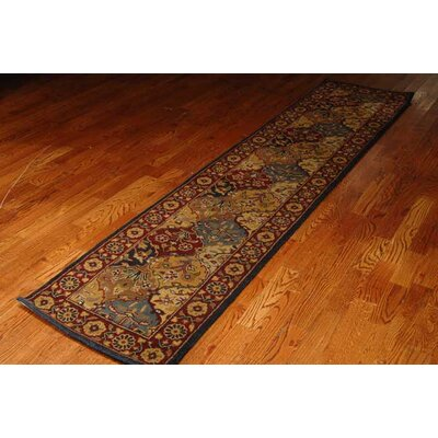Balthrop Navy Area Rug Rug Size: Runner 2'3