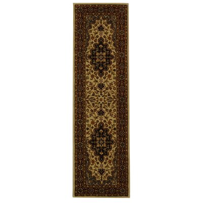 Balthrop Red/Black Area Rug Rug Size: Runner 2'3
