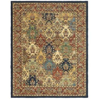 Balthrop Wool Hand Tufted Area Rug Rug Size: 9 x 12