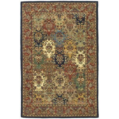 Balthrop Wool Hand Tufted Area Rug Rug Size: 4 x 6