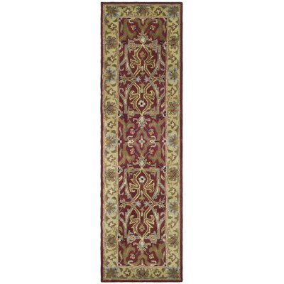 Balthrop Yellow Area Rug Rug Size: Runner 23 x 12