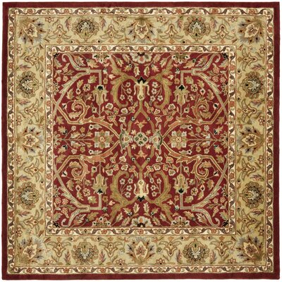 Balthrop Yellow Area Rug Rug Size: Square 8