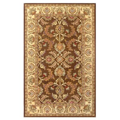 Balthrop Brown/Ivory Rug Rug Size: Rectangle 8 x 10