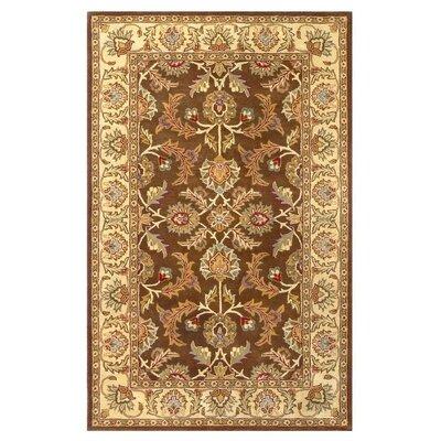 Balthrop Brown/Ivory Rug Rug Size: 8 x 10
