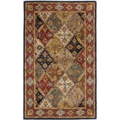 Balthrop Floral Area Rug Rug Size: Rectangle 4 x 6