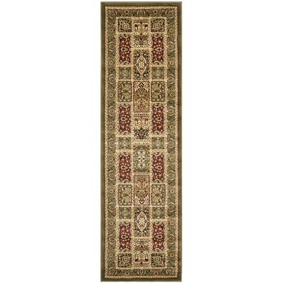 Barton Brown Area Rug Rug Size: Runner 23 x 16