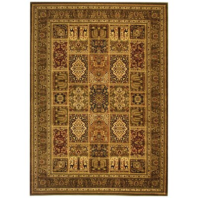 Barton Brown Area Rug Rug Size: 79 x 109