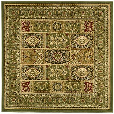 Barton Brown Area Rug Rug Size: Square 8