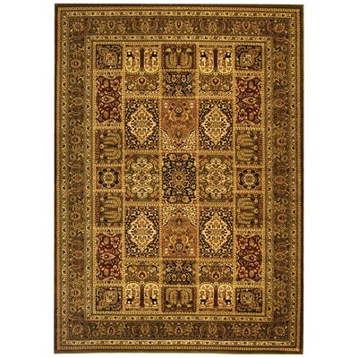 Barton Brown Area Rug Rug Size: 9 x 12