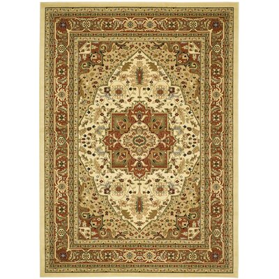 Barton Ivory Area Rug Rug Size: Rectangle 4 x 6
