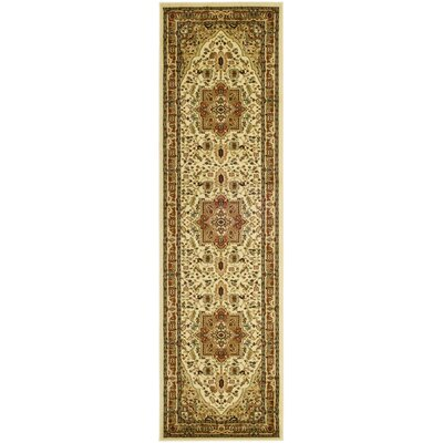 Barton Ivory Area Rug Rug Size: Runner 23 x 12