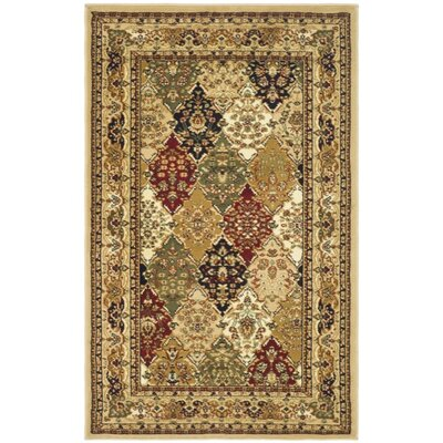 Barton Beige Area Rug Rug Size: Rectangle 4 x 6