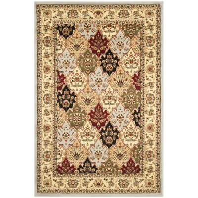 Barton Gray Area Rug Rug Size: Rectangle 6 x 9