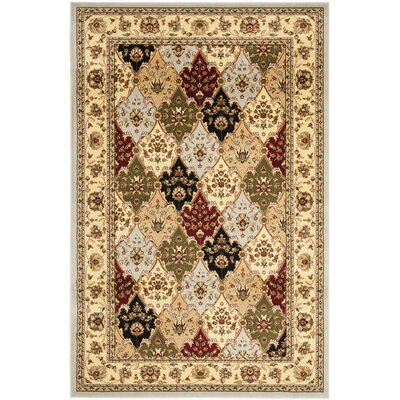 Barton Gray Area Rug Rug Size: Rectangle 33 x 53