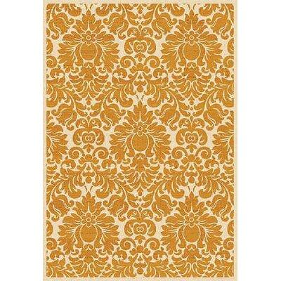 Cargin Gold Oriental Rug Rug Size: 4 x 57