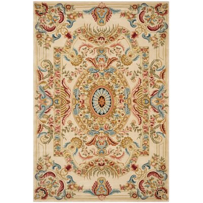 Chaplain Floral Area Rug Rug Size: Rectangle 4 x 6