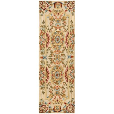 Chaplain Floral Area Rug Rug Size: Runner 26 x 12
