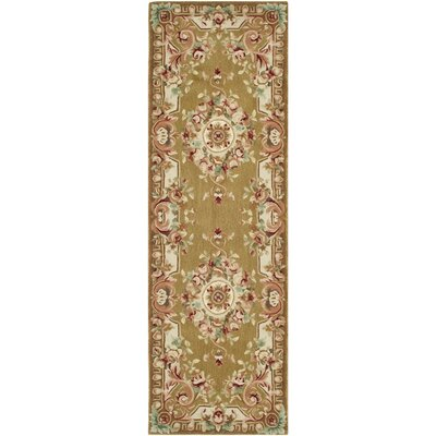 Chaplain Brown/Ivory Rug Rug Size: Runner 26 x 12