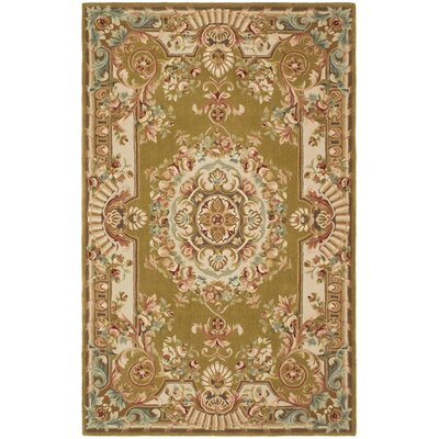 Chaplain Brown/Ivory Rug Rug Size: Rectangle 5 x 8