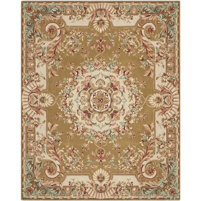Chaplain Brown/Ivory Rug Rug Size: 8 x 10