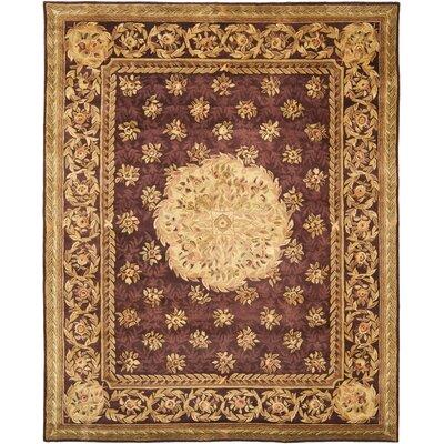 Loren Burgundy Area Rug Rug Size: 83 x 11
