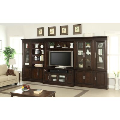 Koval Glass Door Entertainment Center