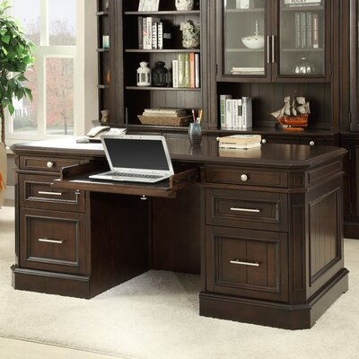 Villanova Executive Desk in Cherry