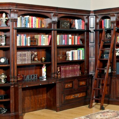 Library Armoire Desk Hutch Blackmoor Product Image 260