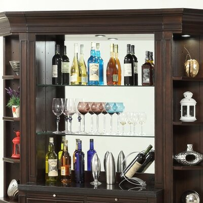 Villanova Bar with Wine Storage