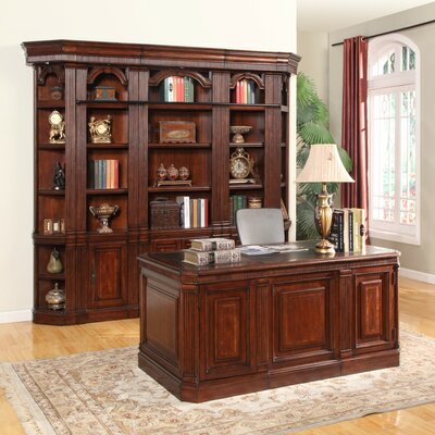Wakefield Executive Desk and Bookcase