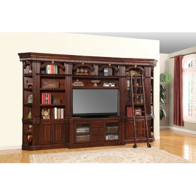 Daisie Wood Framed Entertainment Center