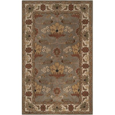 Gaines Dusky Green Rug Rug Size: Rectangle 5 x 8
