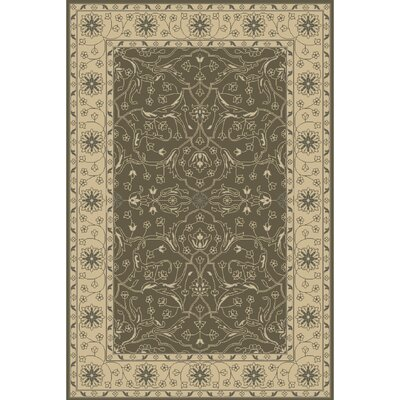 Fulham Hand-Tufted Taupe/Beige Area Rug Rug size: Rectangle 5 x 76