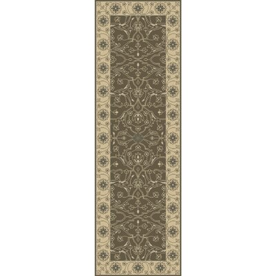 Fulham Hand-Tufted Taupe/Beige Area Rug Rug size: Runner 2'6