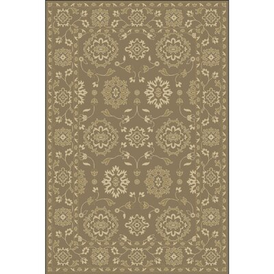 Fulham Hand-Tufted Camel Area Rug Rug size: 4 x 6